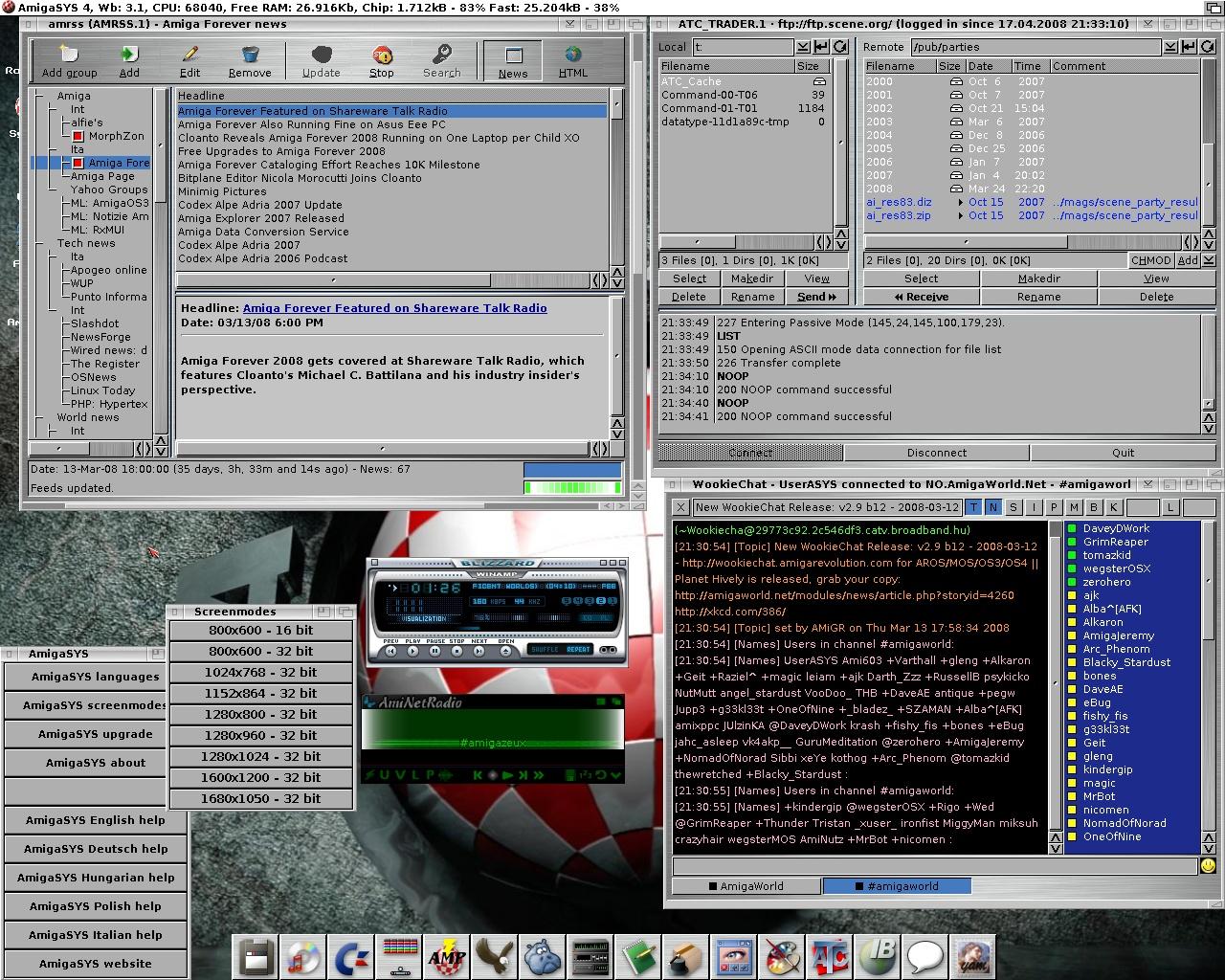 Amiga Storage : a webserver dedicated to Amiga classic users